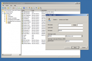 active directory user